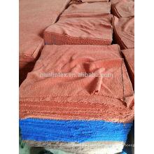 Toalhas de microfibra de estoque de Hebei Hanlin toalha de tingimento têxtil tingindo toalha 30 * 30cm 30 * 70cm 60 * 160cm 70 * 140cm para limpeza