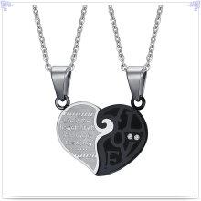 Moda jóias pingente de moda colar de aço inoxidável (nk504)