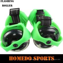 спорт катание на роликах с мигающими колеса мигать ролик
