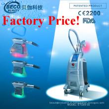Machine de beauté de Cryolipolysis de 3 poignées pour la perte de poids Etg50-3s