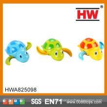 12CM пластичное животное шаржа 6PCS / BOX ветер вверх по игрушке черепахи заплывания