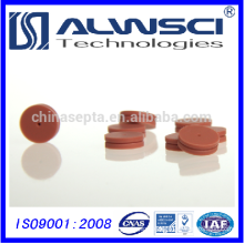320 Red 11*3mm Pre-Pierced High Temperature GC Septa