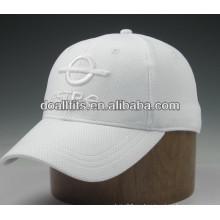 Gorra de béisbol 5 paneles de chapa de metal snapback sombrero Personalizado
