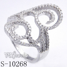 Silver Jewelry with Cubic Zirconia for Women (S-10268)