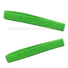 Debossed логотип резиновые силиконовые браслеты для подарков
