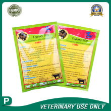 Veterinary Drugs of Oxytetracycline Hydrochloride Soluble Powder(20% )