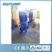 Pompe d'injection centrifuge verticale d'eaux d'égout de série de WL (LW)