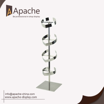 New Arrival A Grade Low Price stainless steel display rack