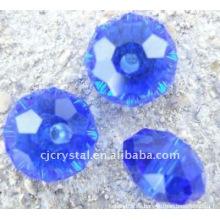 Perlas de cristal sueltas, cuentas de vidrio