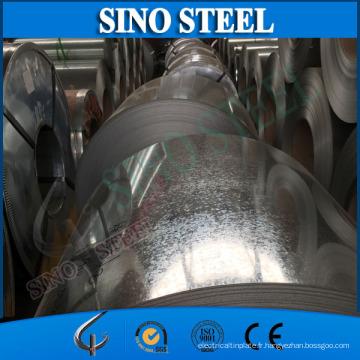 Bobine d'acier galvanisée plongée chaude de SGCC