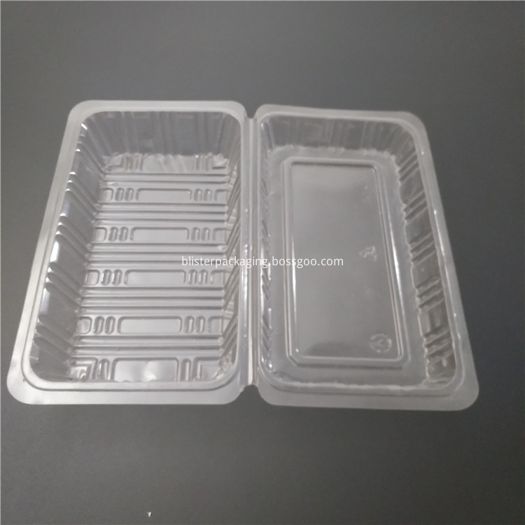 plastic tray tart clear