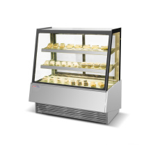500L Commercial R404a Beverage Cake Display Showcase