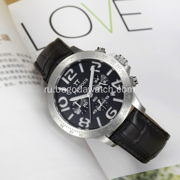 Wholesale men stainless chronograph watches