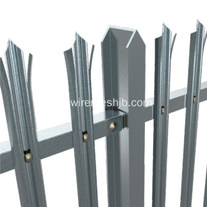 W Sektion Triple Pointed Security Palisade Fäktning