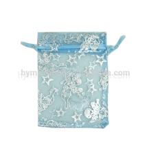 2016 органзы мешки для подарков sheer органза мешок с махрами