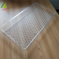 Customized Multi-hole clear extra large deep plastic vial trays