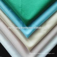 """100% coton tissé / blanchissant / uni / largeur: 59 """"/ poids: 123 g / m2"""