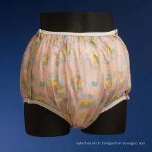 Belle couche en plastique mignonne de couche-culotte pour AB / DL