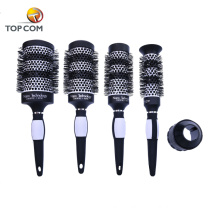 Best travel home use ceramic brush for fine curly hair