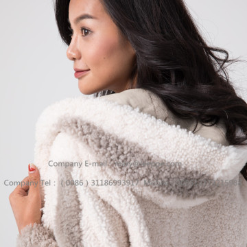 Winter korte Merino dames shearling jas