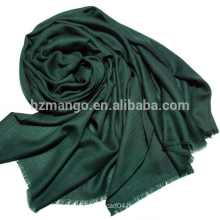 Solid twill face wool scarf, wholesale scarf
