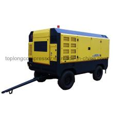 Compresor de aire móvil del rollo del tornillo rotatorio del motor diesel (TDS-33/35 35 barra)