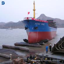 Equipo marino popular del mundo Lanzamiento de la nave de China y levantamiento Airbag
