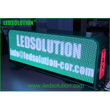 Precio competitivo LED Taxi Roof Display, Taxi Top P5mm Pantalla LED