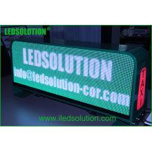 Exposição competitiva do telhado do táxi do diodo emissor de luz do preço, exposição de diodo emissor de luz da parte superior P5mm do táxi