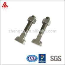 Aço inoxidável personalizado parafuso de aço de 50mm de diâmetro