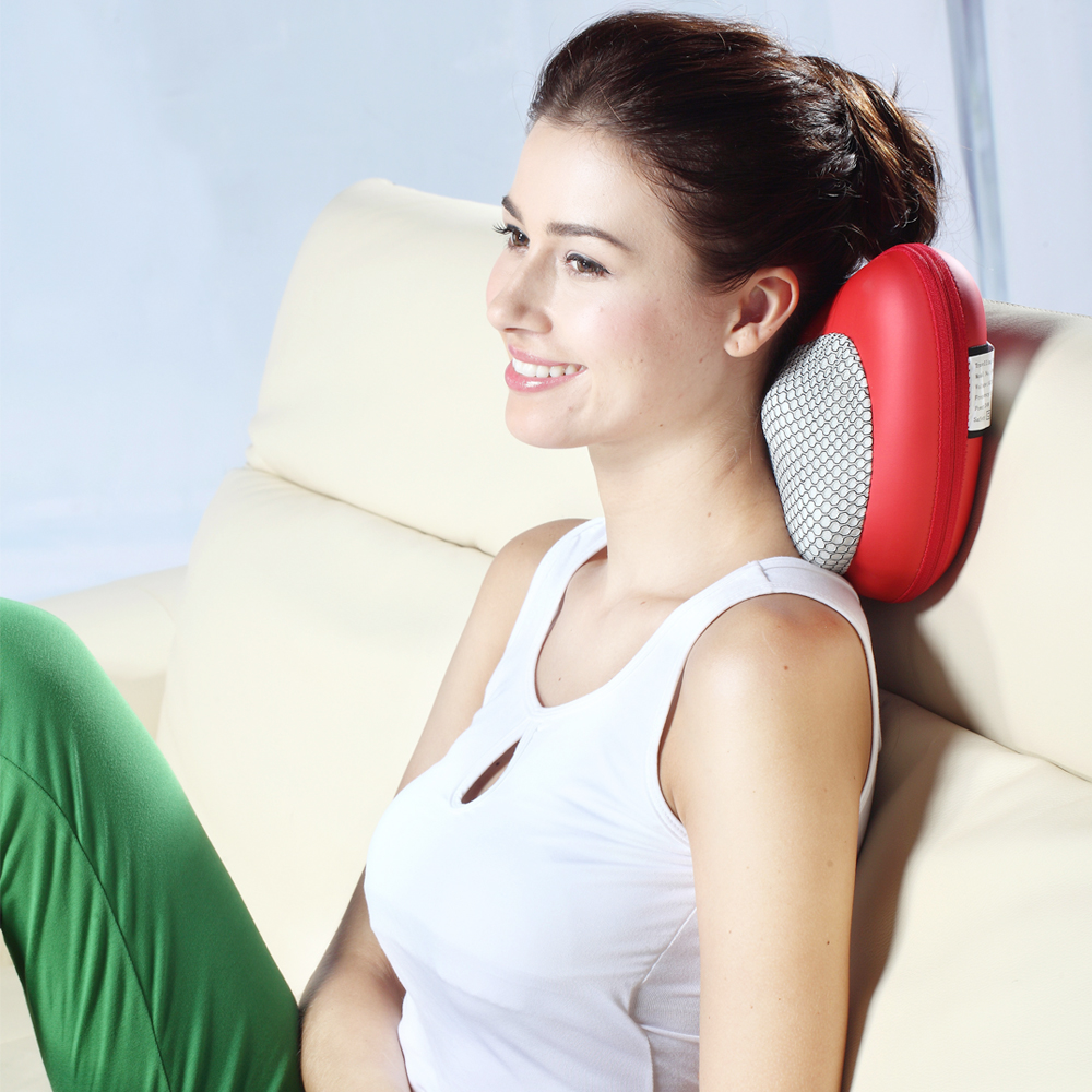 Hot sale Shiatsu neck massage pillow