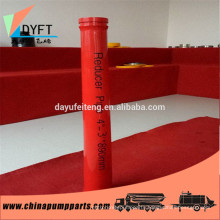 putzmeister concrete pump reducer pipe for pump truck