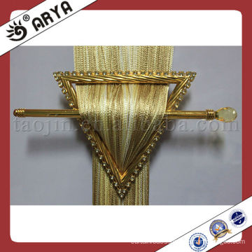 golden triangle embedded drill curtain buckles,curtain clips