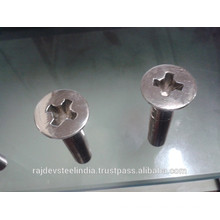 High quality Stainless Countersunk Screws with Cross Drive