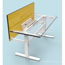 Hand Crank Adjustable Stand Up Desk