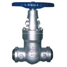 Válvula de compuerta de sello de presión