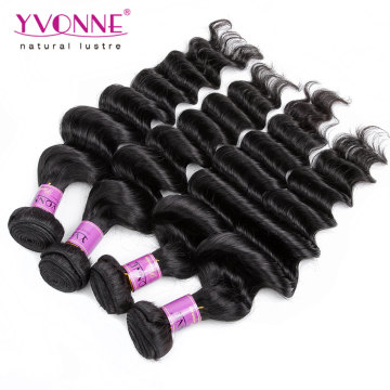 Gros Cheveux Humains Péruvienne Vierge Cheveux Weave