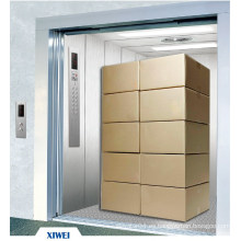 XIWEI 5000KG Big Volume Dos Pannel Puerta Puerta Abierta Frieght Productos Ascensor