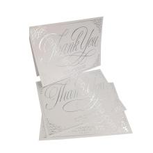 Taille adaptée aux besoins du client! Papier de bonne qualité de vente chaude pas cher coupé la carte de voeux, carte de voeux de joyeux anniversaire