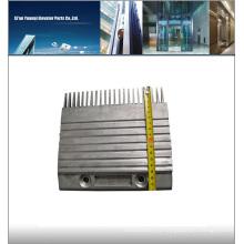 KONE ECO3000 peine derecho DEE3703288 ascensor escaleras mecánicas peine de aluminio