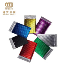 Custom Colored Printed Self Adhesive Postage Mail Shipping Package Metallic Aluminum Foil Air Bubble Mailing Bags
