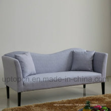 fashion Living Room Sofa with Wave Shape Backrest (SP-KS359)