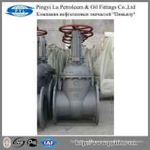 Agua, aceite, tubería de gas utilizado gost de acero al carbono válvula de compuerta pn16