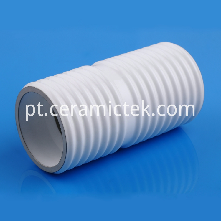 Metallized ceramic insulator for vacuum interrupter