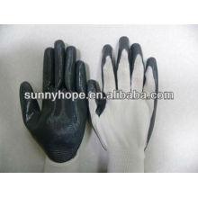13G Nylon Liner Nitril beschichtete Handschuhe