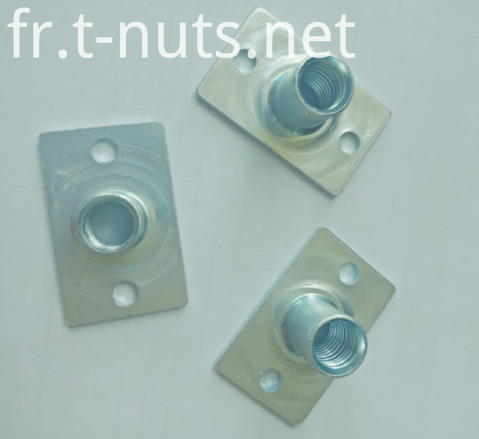 M8X17 Rectangular bottom two holes T Nuts