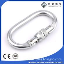 Twist Safety Carabiner for outdoor activity,locking carabiner