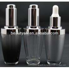 Botellas de cuentagotas de plástico cosmético 30ml