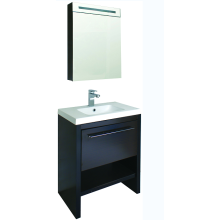 Particle Board Bathroom Cabinet in Washing Room