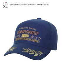 Casquillo promocional de la gorra de béisbol del casquillo de béisbol del casquillo de la moda del ocio del algodón